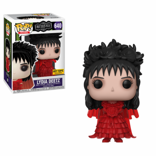 FIGURA POP BEETLEJUICE: LYDIA DEETZ WEDDING DRESS