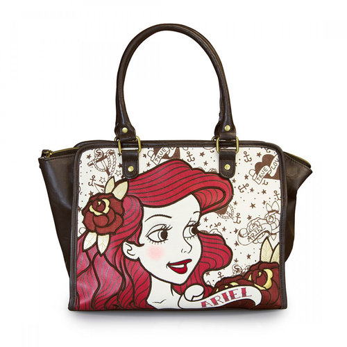 BOLSO LOUNGEFLY DISNEY: ARIEL TRUE LOVE