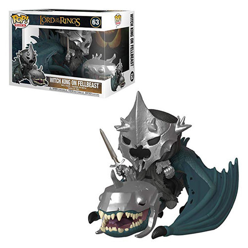 FIGURA POP EL SEÑOR DE LOS ANILLOS: WITCH KING WITH FELLBEAST RIDES