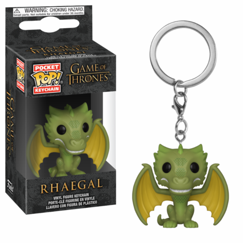LLAVERO POCKET GOT: RHAEGAL