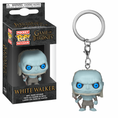 LLAVERO POCKET GOT: WHITE WALKER