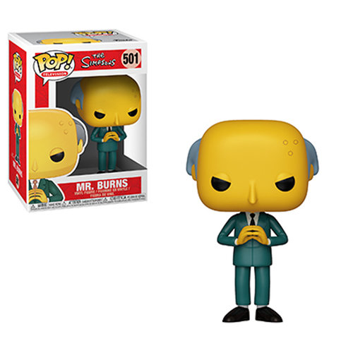 FIGURA POP THE SIMPSONS: MR. BURNS