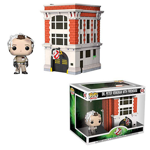 FIGURA POP TOWN GHOSTBUSTERS: PETER WITH HOUSE