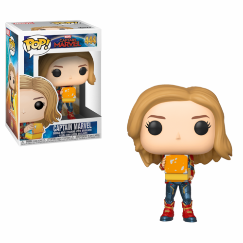 FIGURA POP CAPTAIN MARVEL: CAPTAIN MARVEL WITH LUNCH BOX
