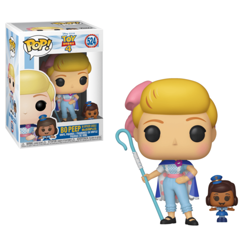 FIGURA POP TOY STORY 4: BO PEEP WITH OFFICER MCDIMPLES