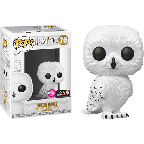 FIGURA POP HARRY POTTER: HEDWIG FLOCKED