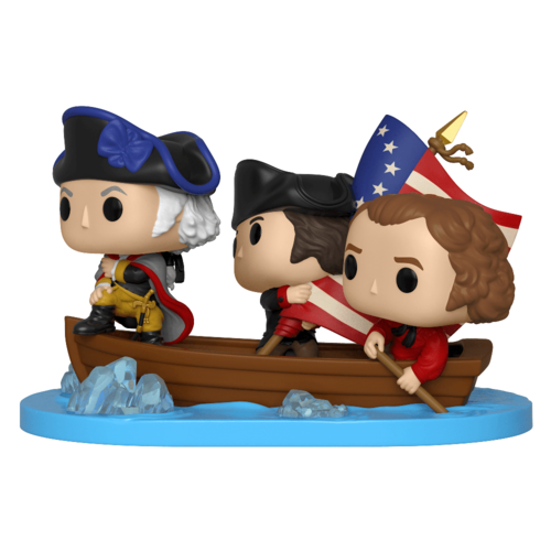 FIGURA POP AMERICAN HISTORY MOMENTS: GEORGE CROSSING THE DELAWARE