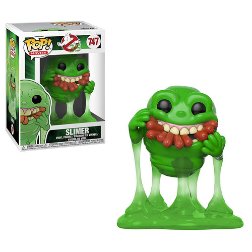 CAJA DAÑADA - FIGURA POP GHOSTBUSTERS: SLIMER WITH HOT DOGS