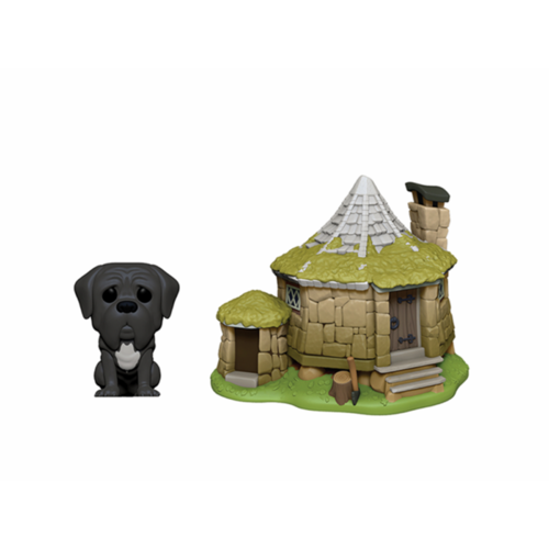 FIGURA POP TOWN HARRY POTTER: HAGRID´S HUT WITH FANG