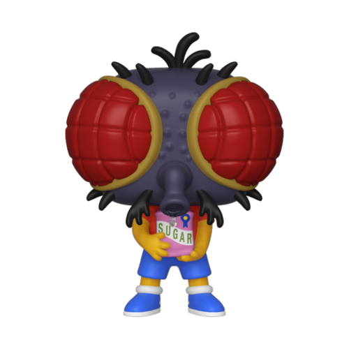 FALLO DE PINTURA - FIGURA POP THE SIMPSONS: FLY BOY BART