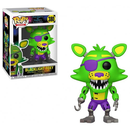 FIGURA POP FNAF: BLACKLIGHT FOXY