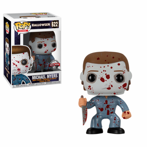 FALLO DE PINTURA - FIGURA POP HALLOWEEN: MICHAEL MYERS BLOOD SPLATTER