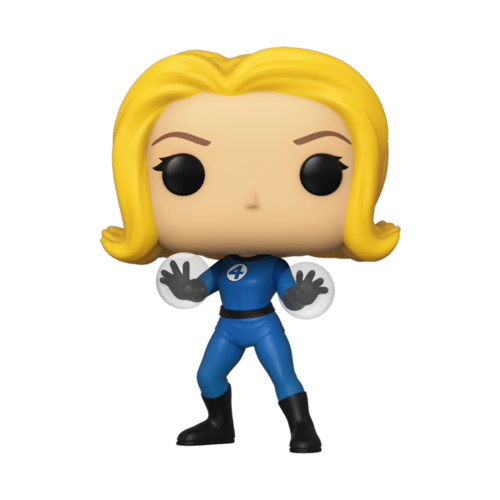CAJA DAÑADA - FIGURA POP FANTASTIC FOUR: INVISIBLE GIRL