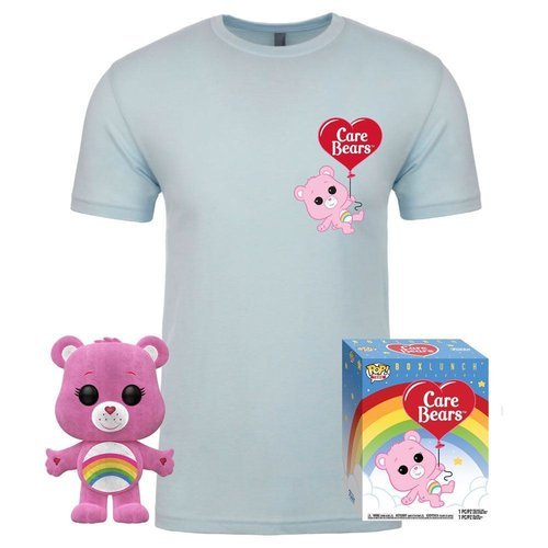 PACK CARE BEARS: FIGURA POP CHEER BEAR + CAMISETA TALLA S