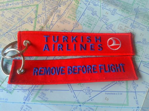 Turkish Airlines keyring
