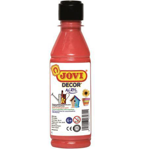 Jovi Decor Acryl Rojo 250ml
