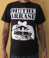 Camiseta negra Oi! the arrase Pistolas