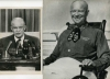 EISENHOWER - 2 photos 1953 / 1955 :