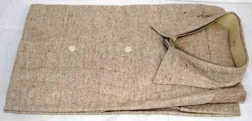 Chemise de travail couleur bis dans la teinte du bourgeron
