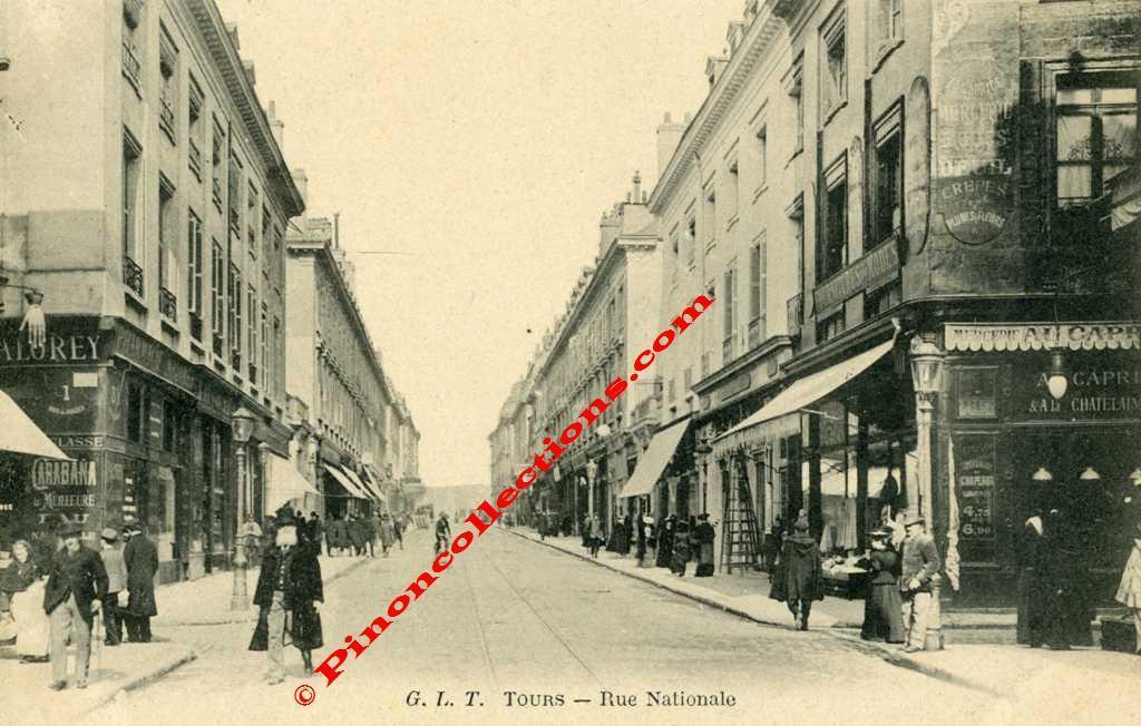 Tours 37 Rue Nationale à L Angle De La Rue Des Halles Magasins Pharmacie Malorey Au Caprice Pinoncollections Com