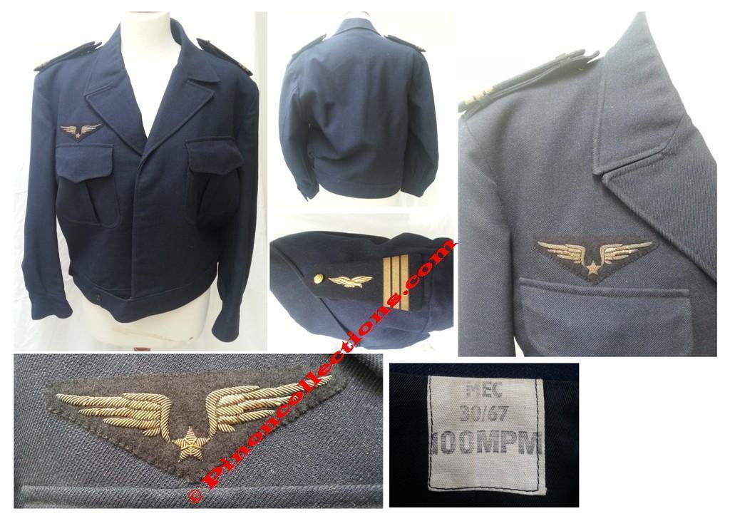 armee de l 39 air blouson dat 1967 d 39 un officier pilote au. Black Bedroom Furniture Sets. Home Design Ideas