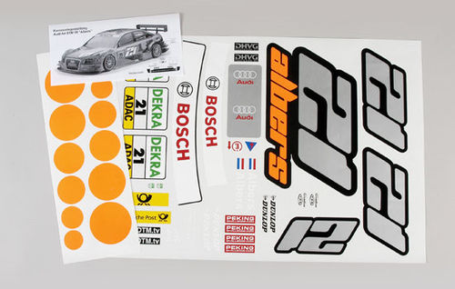 FG - Team decals Audi A4 Albers [04156]