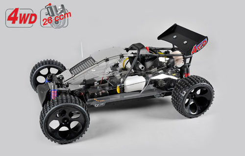 Buggy WB535 4WD, clear body