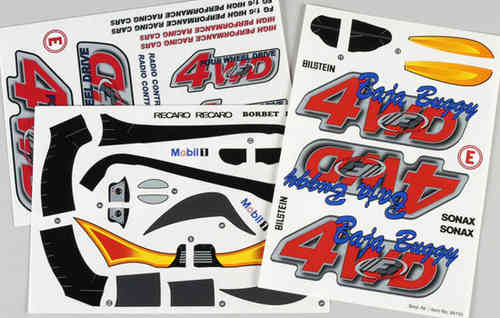 FG - Stickers Set Buggy [68155]