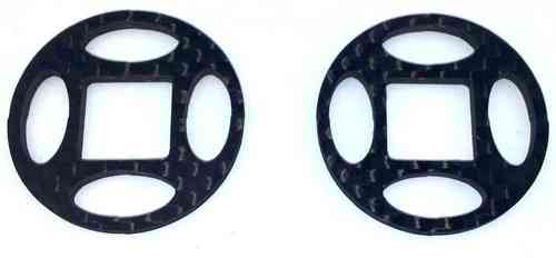 Diff-Shim Carbon Set V3 (32mm) - for low grip tracks