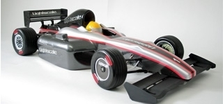 Lightscale - F1 Bodyshell 1,5mm Lexan, unpainted [51200101]