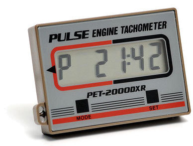Pulse engine tachometer PET-2000DXR