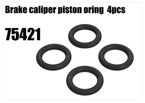 RS5 - Brake caliper piston oring, 4pcs [75421]