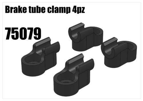 RS5 - Brake tube clamp, 4pcs [75079]