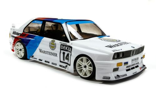 FG - BMW M3 E30 bodyshell with wing, Clear  [08059]