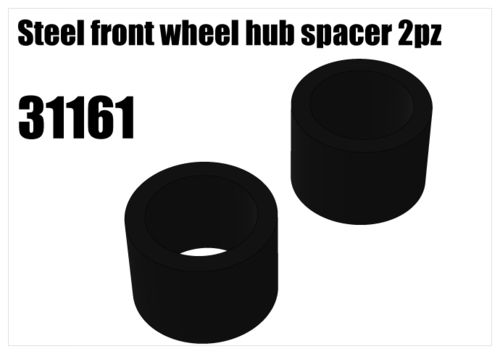 RS5 - Steel spacer for front Hub [31161]