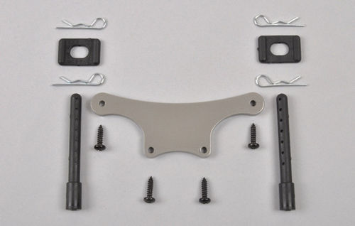 FG - Alloy body mount front, adjustable [04483/01]