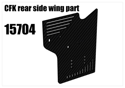 RS5 - CFK rear side wing part [15704]
