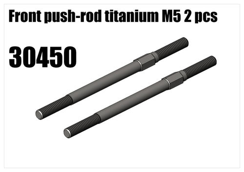 RS5 - Titanium front push-rod M5 2pcs [30450]