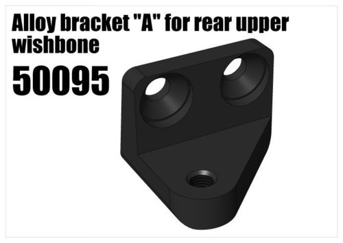 "RS5 - Alloy bracket ""A"" for rear upper wishbone [50095]"