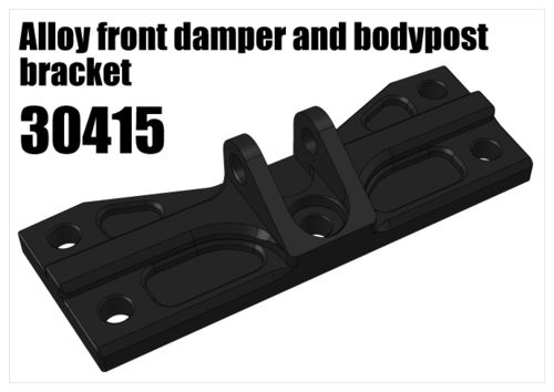 RS5 - Alloy front damper and bodypost bracket [30415]
