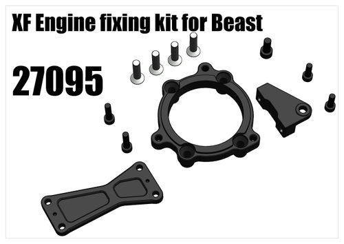 RS5 - XF Engine Fixing Kit for Beast [27095]