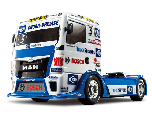 Tamiya - Camion MAN TGS Team Hahn Racing [58632]