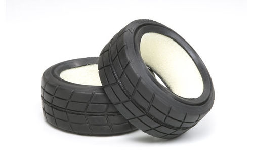 Tamiya - Medium-Narrow Racing Radial Tires [51023]