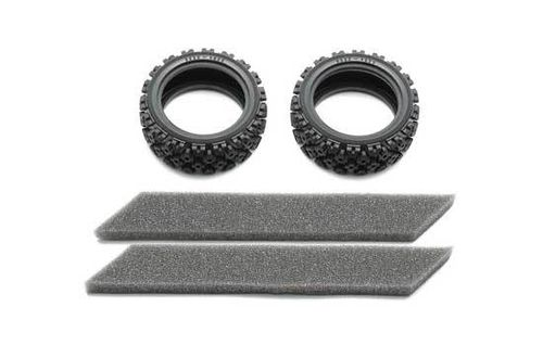 Tamiya - Rally block soft Tires [54861]