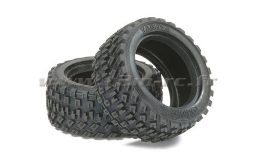 Tamiya - Rally Block 60D Tires [51427]