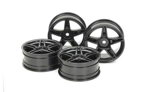 Tamiya - Twin 5-Spoke Wheels 24mm +2 [54853]