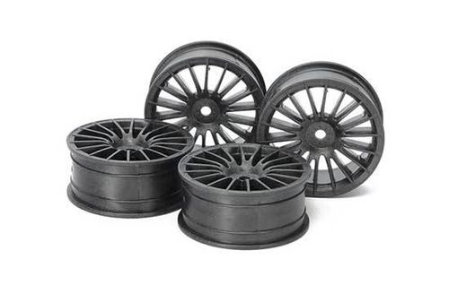 Tamiya - Medium-Narrow 18-Spoke Wheels [54738]