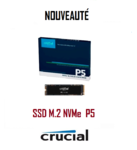 SSD M.2 NVMe CRUCIAL P5