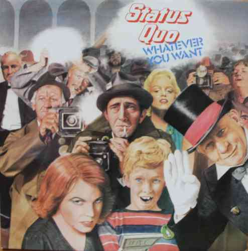 VINYL 33T status quo whatever you want