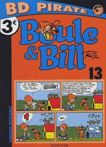 BD Pirate  Boule et Bill 13
